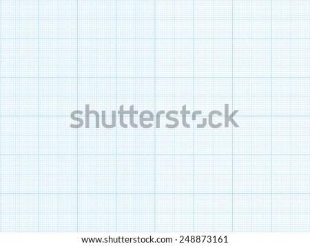 Vector Blue Plotting Graph Grid Paper Stock Vector HD (Royalty Free