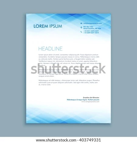 Sample Cobra Letter To Employees On Company Letterhead Letterhead Stock Images Royalty Free Images And Vectors