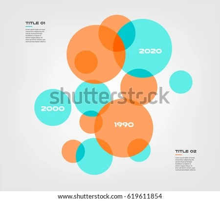 Bubble Chart Elements Venn Diagram Infographics Stock Vector (2018 - bubble chart