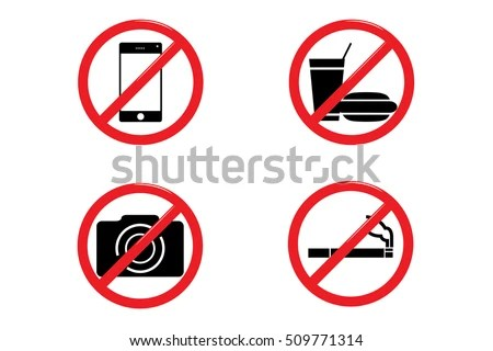 no cell phone signs - zaxa