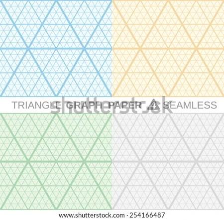 triangle graph paper - Gottayotti