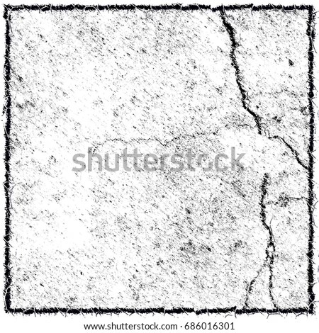 Black White Grunge Background Black Border Stock Illustration - black border background