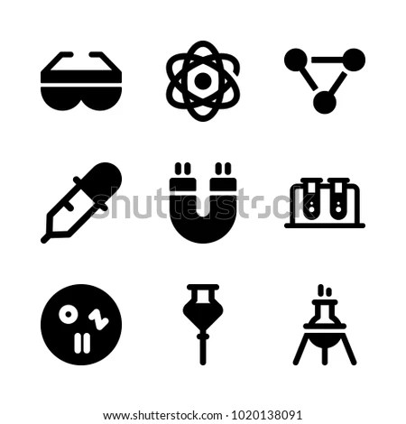 Icons Chemistry Vector Petri Dish Safety Stock Vector 1020138091 - chemistry safety