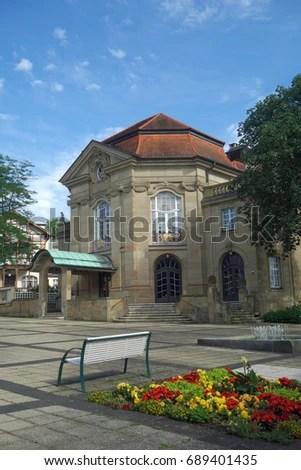 Bad Kissingen Concert Hall Stock Photo 689401435 - Shutterstock - bad kissingen