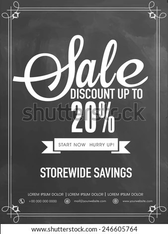Coupon Flyers Sample Templates Discount Flyer Template Sale And