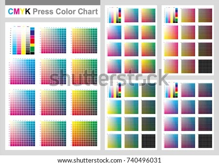 Cmyk Color Chart Best Ideas About Cmyk Color Chart On Pinterest - sample cmyk color chart