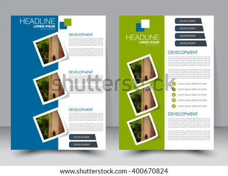 Abstract Flyer Design Background Brochure Template Stock Vector HD