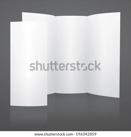 Free Blank Tri Fold Brochure Templates blank tri fold brochure – Blank Tri Fold Brochure Template