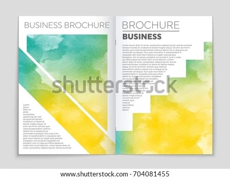 Abstract Vector Layout Background Set Art Stock Vector 595443803 - blank sign in sheet