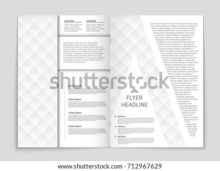 Abstract Vector Layout Background Set Art Stock Vector 708140890 - blank sign in sheet