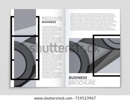Abstract Vector Layout Background Set Art Stock Vector 719523967 - blank sign in sheet