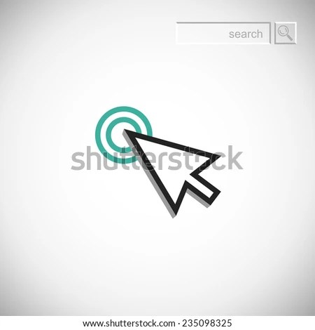 stock-vector--hand-mouse-icon-pointer-finger-click-icon-235098325 - monster resume services