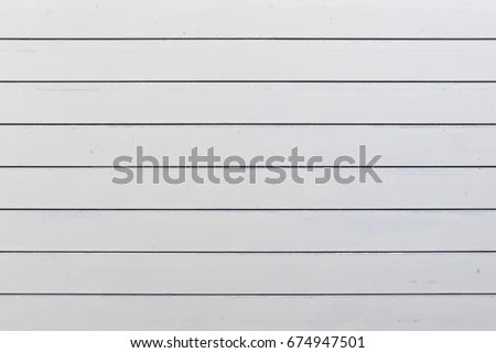 Exterior Wall Horizontal White Slats Stock Photo (Royalty Free - horizontal writing paper