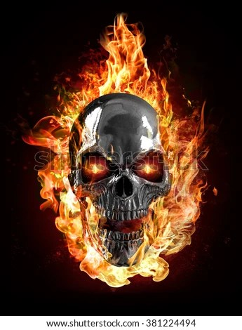3d Yamaha Motorcycle Wallpaper Metal Skull Flames Stock Illustration 381224494 Shutterstock