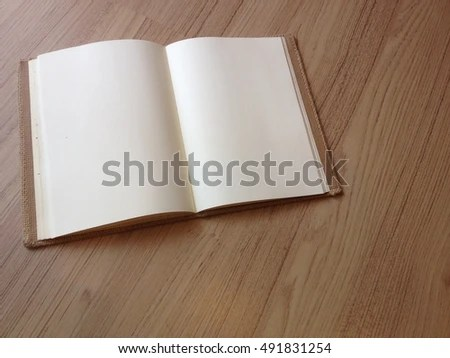 Blank Diary Page Blank Space Not Stock Photo 491831254 - Shutterstock - blank diary page
