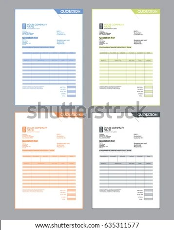 quotation design template - Apmayssconstruction