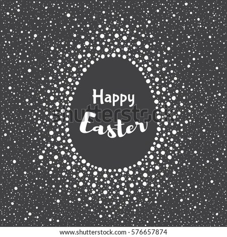 Happy Easter Greeting Card Template Splash Stock Vector 576657874 - easter greeting card template