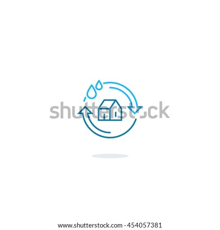 House Cleaning Services Plumbing Repair Logo Stock Vector HD