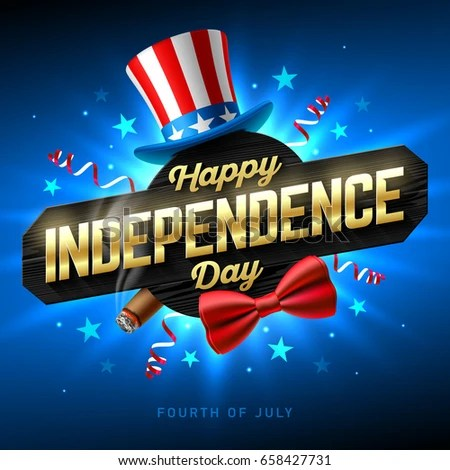 Happy Independence Day Party Poster Flyer Stock Vector 658427731 - independence day flyer