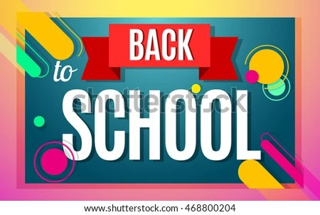 Welcome Back School Color Banner Design Stock Vector (2018 - welcome back template