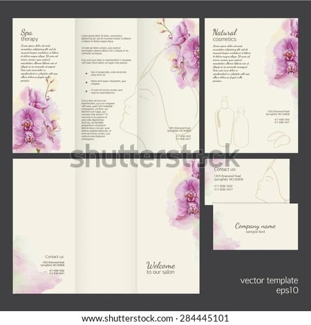 Spa Brochure Stock Images, Royalty-Free Images \ Vectors - spa brochure