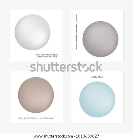 Abstract Gradient Sphere Light Gray Light Stock Vector HD (Royalty