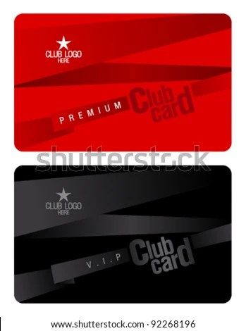 Membership Cards Templates Waiter Resume Examples For Letters Job