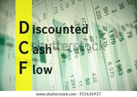 Acronym DCF Discounted Cash Flow Stock Illustration 355636937 - discounting cash flow