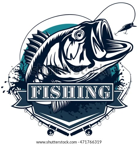 Mahi Name Wallpaper 3d Red Snapper Rods Ocean Waves Fishing Stock Vector