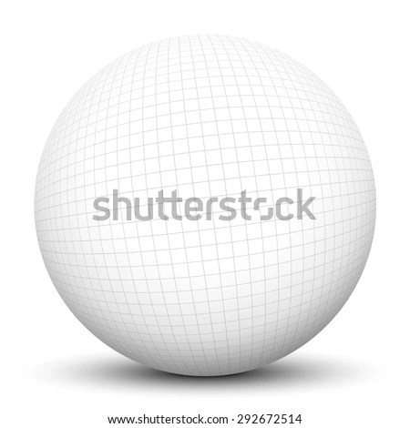 3d Sphere Checkered Graph Paper Texture Stock Illustration 292672514 - 3d graph paper