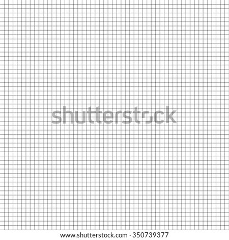 Grid Mesh Graph Paper Millimeter Paper Stock Vector (Royalty Free