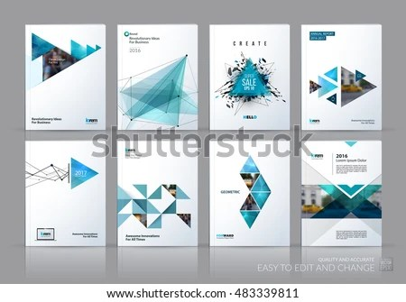 Brochure Template Layout Cover Design Annual Stock Vector 483339811