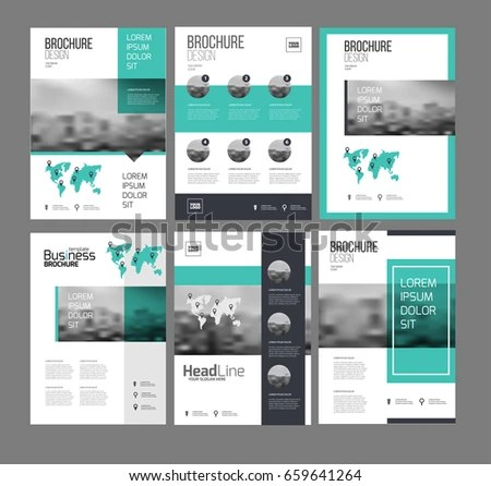 Sales Brochure Template Graphicriver Hotel And Motel Trifold