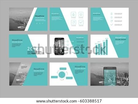 Presentation Flyer Pamphlet Brochure Template Design Stock Photo - pamphlet layout template