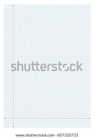 A 4 Size Graph Paper X Y Stock Vector HD (Royalty Free) 607320731 - graph paper with axis