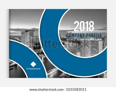 Business Brochure Cover Design Template Corporate Stock Vector - sample business brochure