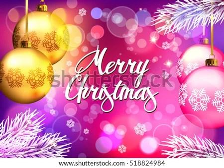 Christmas Background Merry Christmas Stock Vector 518824984