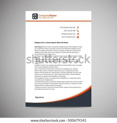 letter head designing - Towerssconstruction