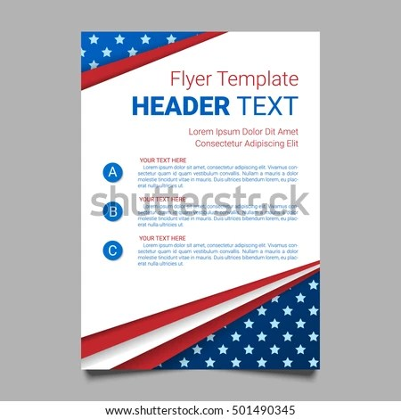 Political Campaign Stock Images, Royalty-Free Images \ Vectors - campaign flyer template