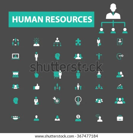 Human Resources Organization Management System Ceo Stock Vector - resume management system