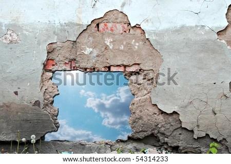 Free 3d Pile Of Bricks Wallpaper Broken Wall Stock Images Royalty Free Images Amp Vectors