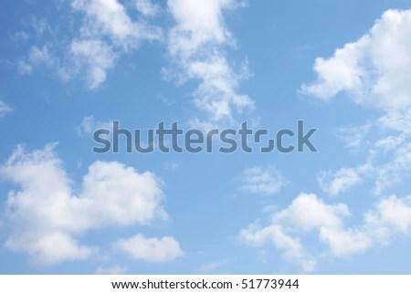 Basic Blue Sky Background Stock Photo (Download Now) 51773944 - basic blue background