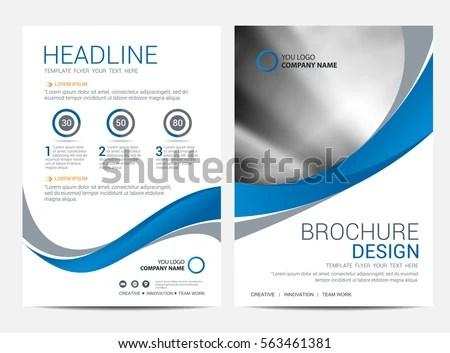 Brochure Template Flyer Design Vector Background Stock Vector - pricing brochure template