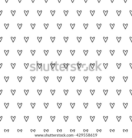 Cute Background With White Hearts wwwpicturesso