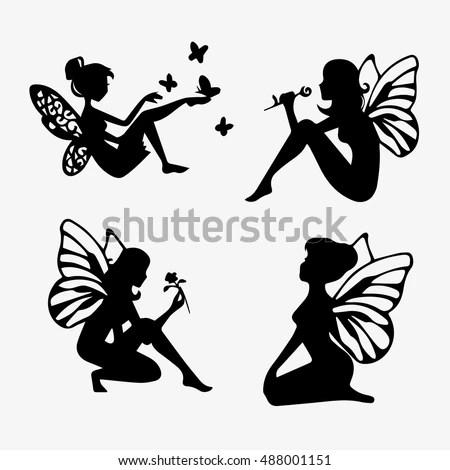 silhouette fairy - Ecosia