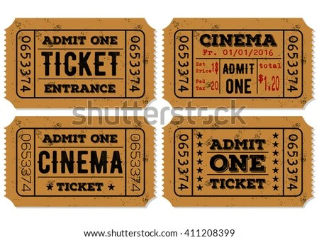 Admit Stock Images, Royalty-Free Images \ Vectors Shutterstock - admit one ticket template