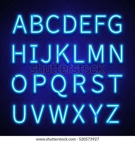 neon lettering font - Josemulinohouse - neon lettering