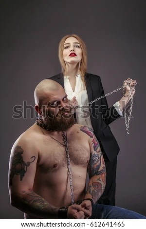 The Difference Between Men And Women Stock Images Royalty