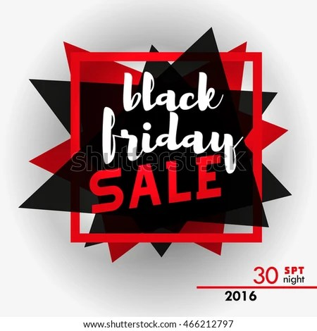 Black Friday Sale Tag Template Abstract Stock Vector (2018 - sale tag template
