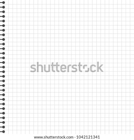 Blank Lined Paper Template One Page Stock Vector 1042121341 - line paper template